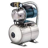 Насосная станция Насосы плюс оборудование AUJS 110/24LSS бытовая для водоснабжения