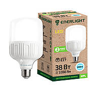 Лампа светодиодная ENERLIGHT HPL 38Вт 6500K E27 Ш.К. 4823093502925