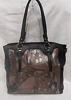 Стильная кожаная сумка . Большая кожаная сумка., фото 1