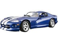 Авто-конструктор - DODGE VIPER GTS COUPE (1996) (синий, 1:24)