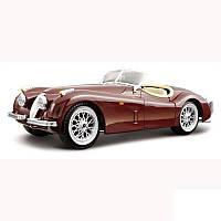 Авто-конструктор - JAGUAR XK 120 ROADSTER (1951) (вишневый, 1:24)