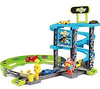 Игровой набор Скоростной подъем серии GoGears (гараж и 1 машинка)