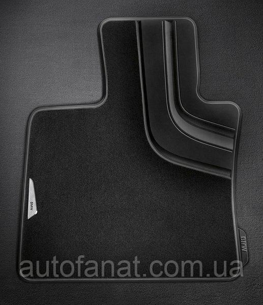 Коврики оригинальные для BMW X5 (F15) текстильные черные (51472347731 / 51472347733)