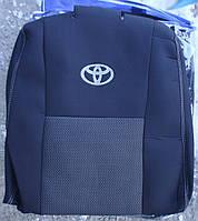 Авточехлы Toyota Aygo (Hatch) 3d с 2014 автомобильные модельные чехлы на для сиденья сидений салона TOYOTA Тойота Aygo