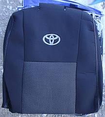 Чехлы Elegant на сиденья Toyota Hilux с 2013 автомобильные модельные чехлы на для сиденья сидений салона