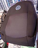 Чехлы Elegant на сиденья Volkswagen Caddy 5 мест (1+1) с 2010 автомобильные модельные чехлы на для сиденья