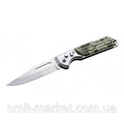 Нож выкидной 407 камуфляж , фото 2