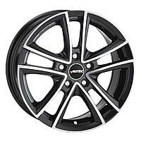 Литые диски Autec Yukon R17 W7.5 PCD5x112 ET35 DIA70.1 (black polished)