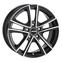 Литые диски Autec Yukon R18 W8 PCD5x112 ET35 DIA70.1 (black polished)