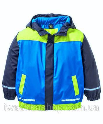 Прорезиненная куртка дождевик для мальчика 5-7 лет, X-Mail р. 166-122