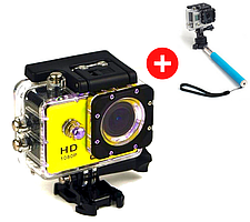Экшн камера Action Camera F71 WiFi Full HD
