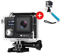 Экшн камера F88 WiFi 4K, Action Camera  (аналог GoPro), фото 1