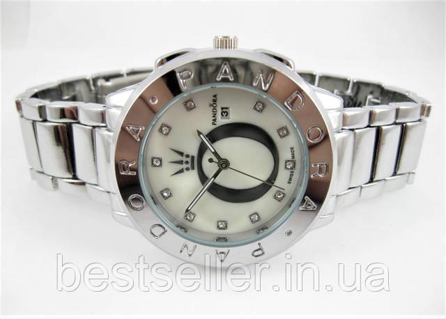 0774a1354242 Ультрамодные стильные женские часы Pandora с камнями