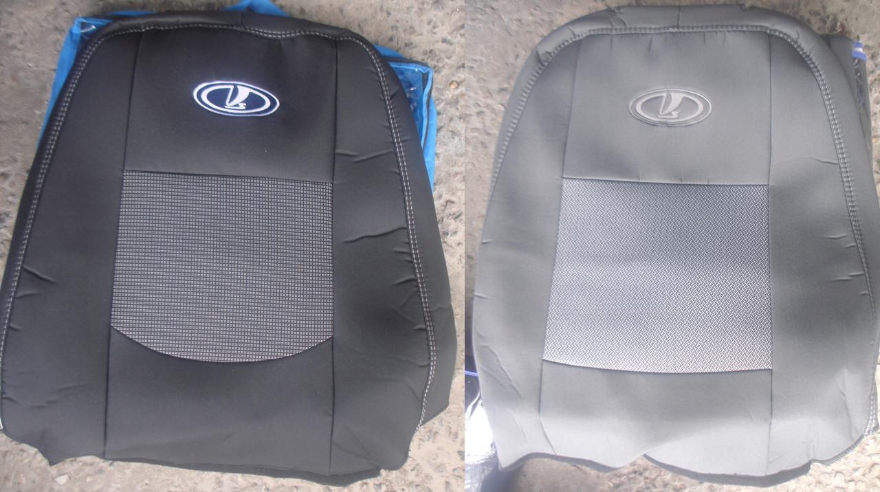 Авточехлы ВАЗ Granta 2190 c 2011 автомобильные модельные чехлы на для