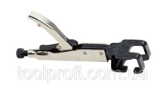 Зажим с фиксатором для кузовных работ (D-образный)