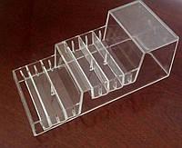 Пластиковая подставка  для теней,румян и т.д 160*70мм