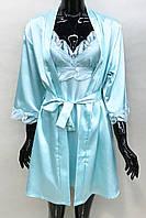 Женский халат и ночная рубашка Натали, фото 1