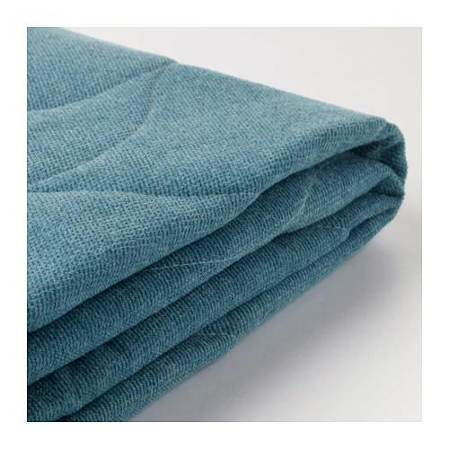 Покрытие для трехместного раскладного дивана IKEA NYHAMN Borred сине-зеленый 603.401.67