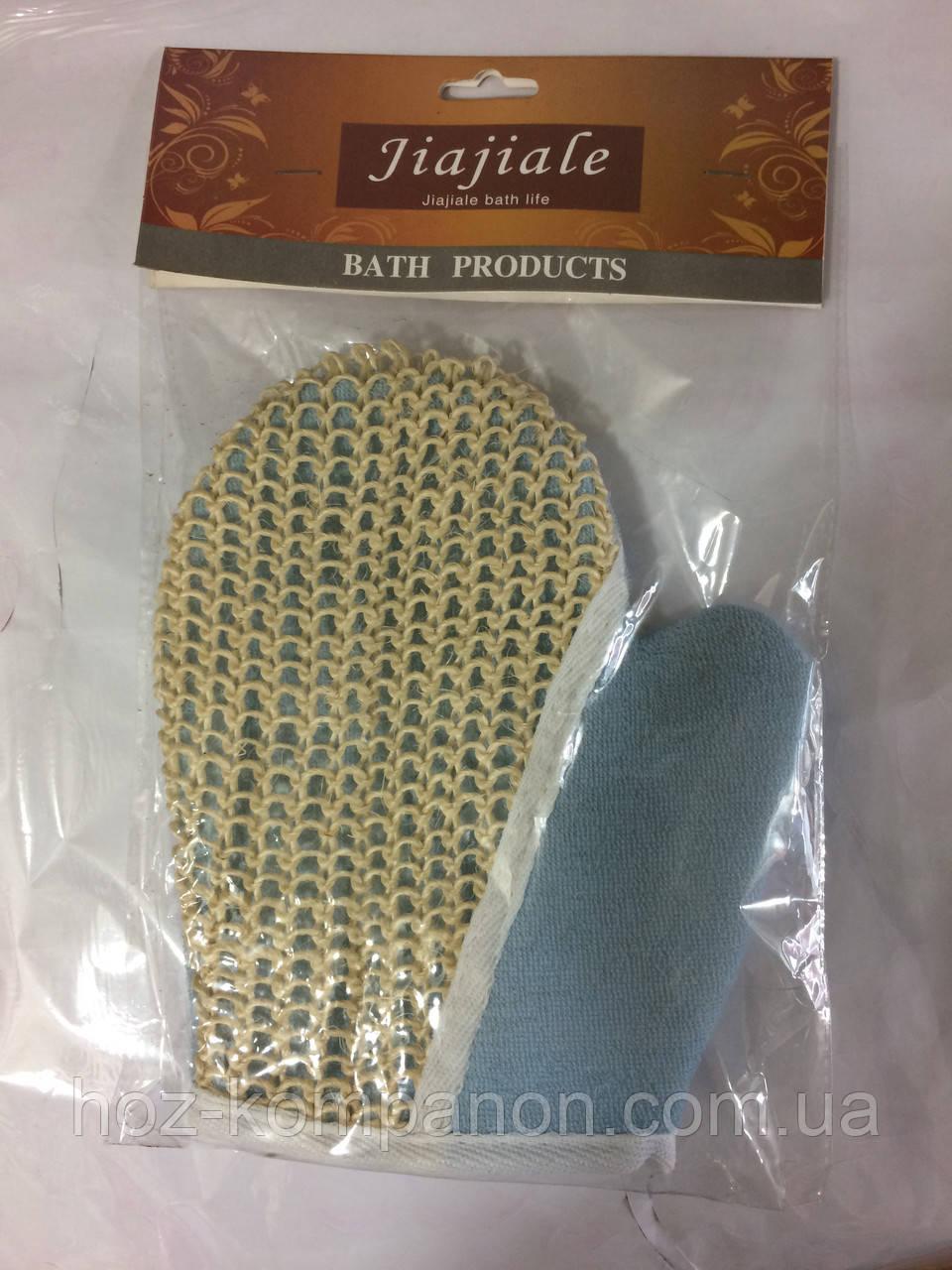 Перчатка мочалка антицеллюлитная   для душа 1 шт.