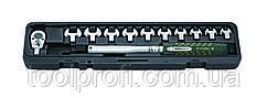 Ключ динамометрический со сменными насадками рожкового типа 13 пр. (10-60 Нм)