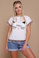 Интересная женская футболка, фото 1