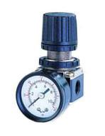 """1/4"""" Регулятор давления с манометром для пневмосистемы"""