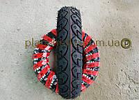 Резина на скутер 3.00-10 бескамерная шоссе