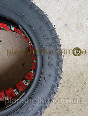 Резина на скутер 3.00-10 бескамерная шоссе , фото 2