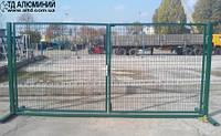 Изготовление ворот из сетки 3Д 3х1,5м