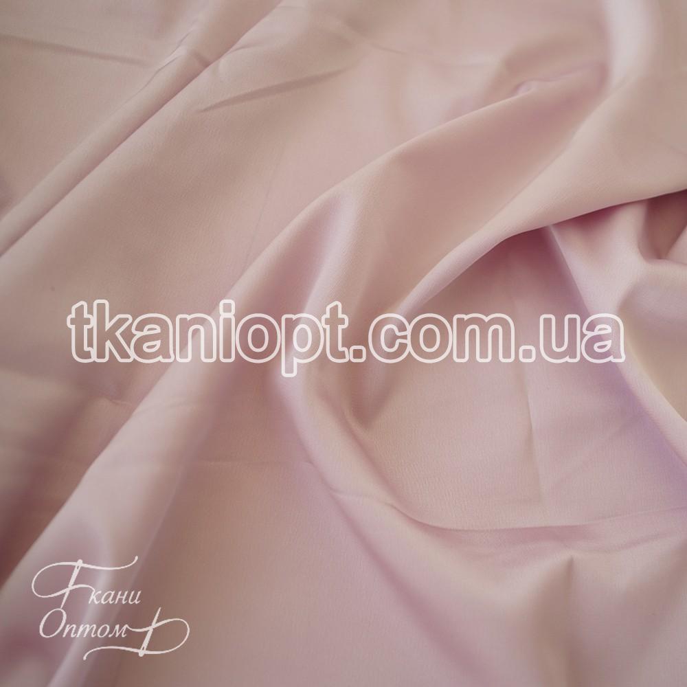 Ткань Шифон шелк (лиловый)