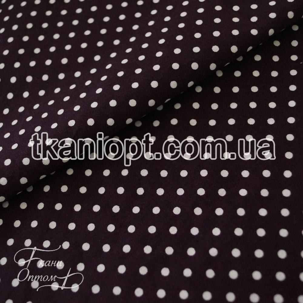 Ткань Рубашечная ткань хлопок горох (4мм)