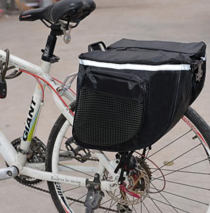 Велосипедная сумка на багажник вело штаны, фото 2