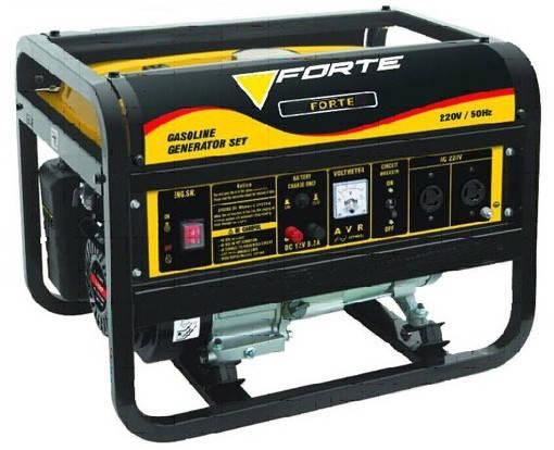 Генератор бензиновий Форте FG20000 (1,2кВт,бак 6л,)