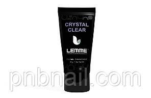 Poly gel Lemme Crystal Clear - кристально-прозрачный, 30 мл