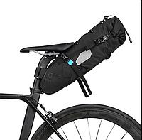 Велосипедная большая сумка под седло вело кофр