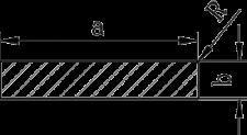 Алюминиевая полоса | Под заказ. Ширина 50-140 мм., фото 2