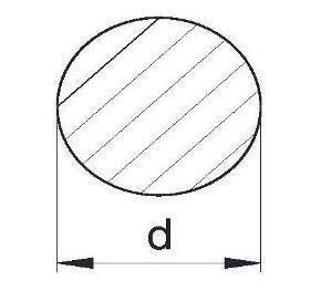 Пруток алюминиевый | Кругляк - диаметр   85мм