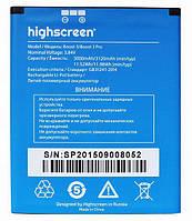 Аккумулятор для Highscreen Boost3 Boost3 Pro