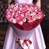 Букет 51 роза Джумилия, фото 1