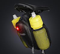 Велосипедная сумка с флягами под седло вело кофр Roshweel