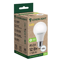 Стандарт Лампа светодиодная ENERLIGHT A60 12Вт 4100K E27 Ш.К. 4823093500044