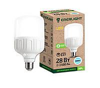 Лампа светодиодная ENERLIGHT HPL 28Вт 6500K E27 Ш.К. 4823093502901