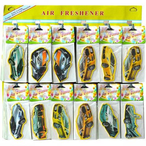 Освежитель воздуха бумажный, авто 11×5 см  ОВа1861, фото 2