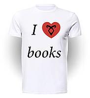 Футболка мужская размер L GeekLand Орудия Смерти The Mortal Instruments love books M.01.05