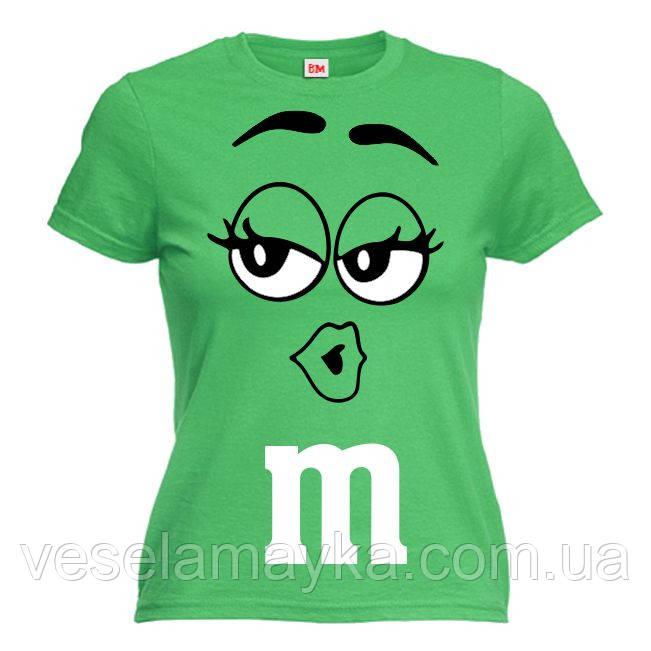 """Женская футболка """"M&Ms (эмемдемс)"""""""