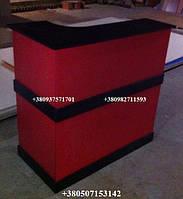 Стойка администратора. Модель V36 красный / черный, фото 1