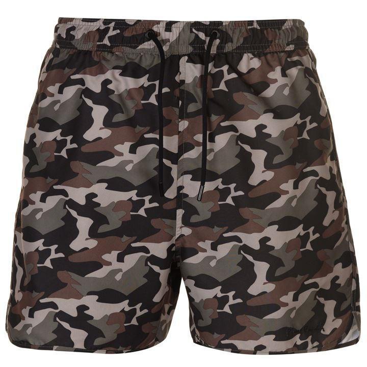 Мужские камуфляжные короткие шорты Pierre Cardin Camo Print оригинал 44 размер
