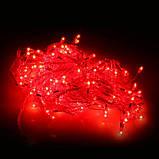 Гирлянда электрическая (прозрачный шнур), 100 лампочек , фото 3