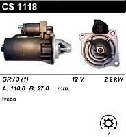 Стартер 2.2 кВт на Iveco Daily 30-59 78-98 CS1118
