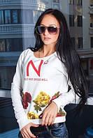 """Стильная женская кофта  """" Цветы N """" SK House, фото 1"""